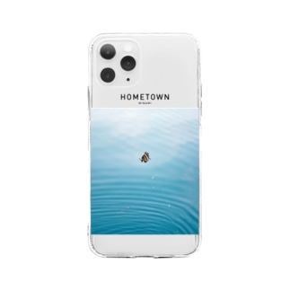 HOMETOWN_MINAMI Soft clear smartphone cases