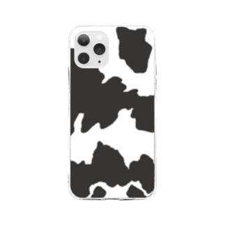 牛柄 Soft clear smartphone cases
