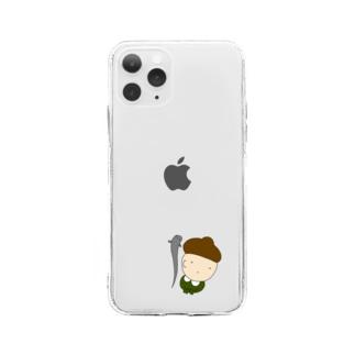 どんぐりさん Soft clear smartphone cases