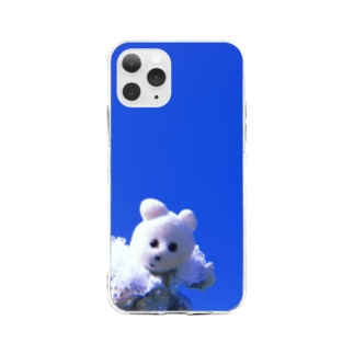 快晴うれしや Soft clear smartphone cases