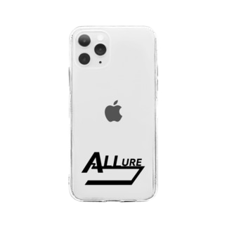 allure LOGO Soft clear smartphone cases