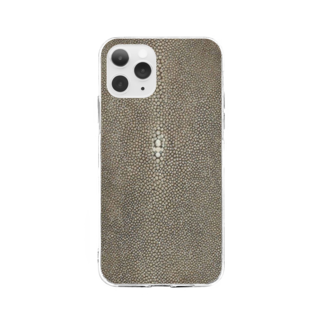 Loopの革 Soft clear smartphone cases