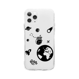 astronotes Soft clear smartphone cases