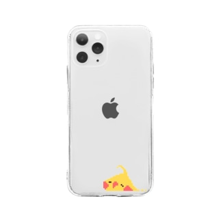 鳥スライム / オカメ Soft clear smartphone cases