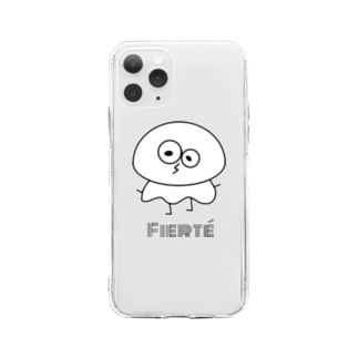 【Fierté】全種類iPhoneケース Soft clear smartphone cases