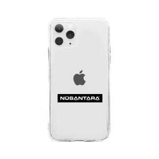 NUSANTARA BOX LOGO Soft clear smartphone cases