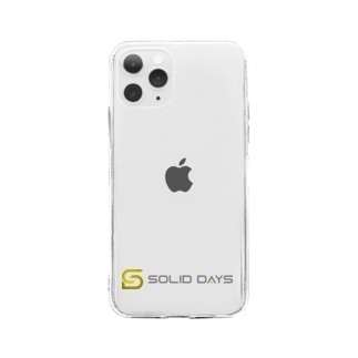 SOLID DAYS グッズショップのSOLID DAYS 2020 Soft clear smartphone cases