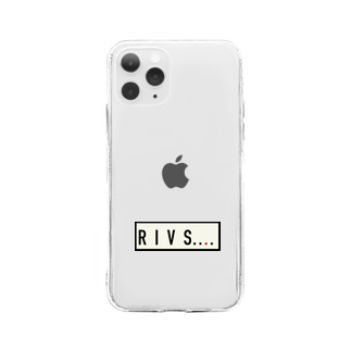 SANS RIVAL F.C. official  goodsのRIVS.... 20ss Soft clear smartphone cases