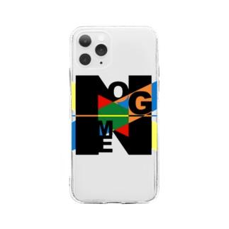のーむグッズ Soft Clear Smartphone Case