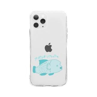ナポレオンフィッシュ Soft clear smartphone cases