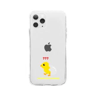 ぴよ子ちゃん Soft clear smartphone cases