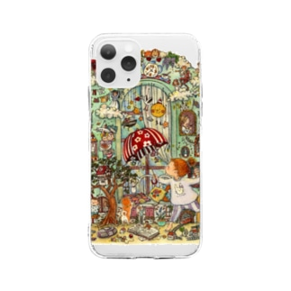 at home Soft clear smartphone cases