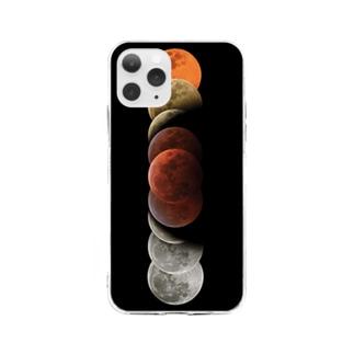 Lunar Eclipse iPhone Case Soft clear smartphone cases