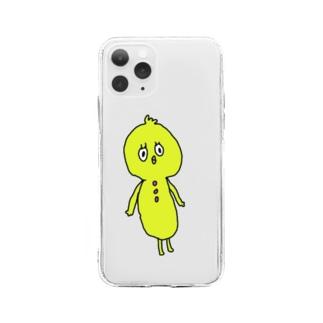 トリッキー Soft clear smartphone cases