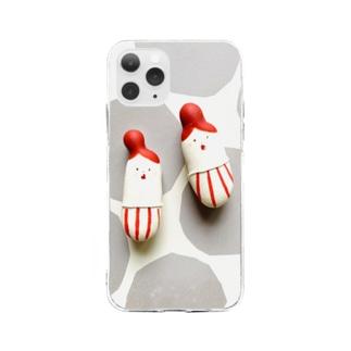 オクサンマカロン Soft clear smartphone cases