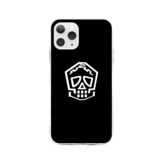 ミュージアムロゴ Soft clear smartphone cases