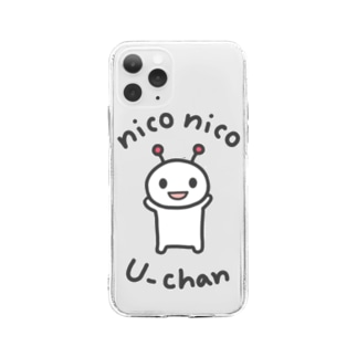 niconico U-chan / ニコニコうーちゃん Soft clear smartphone cases