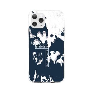 スマートフォンケース  - Grass Piece / illustration / Logo Soft clear smartphone cases