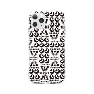 モモンガとドット♪ Soft Clear Smartphone Case