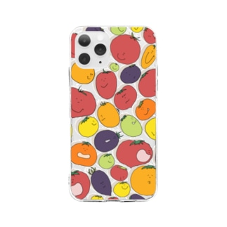 トマト!トマト!トマト! Soft clear smartphone cases