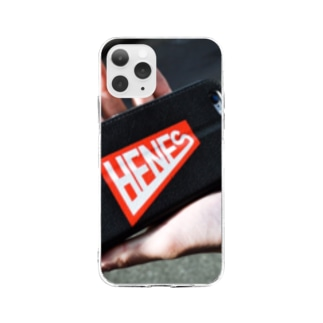 HENES CASE Soft clear smartphone cases