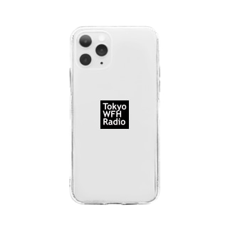 Tokyo WFH Radio goods Soft clear smartphone cases
