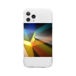 プリズム Soft clear smartphone cases