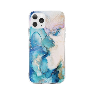 AM 6:14 Soft clear smartphone cases