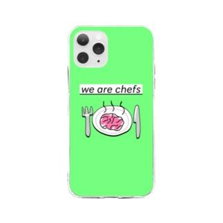 ideaスマホケース Soft clear smartphone cases