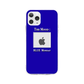 BlueMonday iPhone case Soft clear smartphone cases