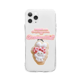 Cookie Bunny Mobile Case Soft clear smartphone cases