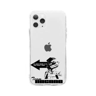 前向き櫻山 Soft clear smartphone cases