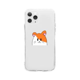 ハムスターiPhoneケース Soft clear smartphone cases
