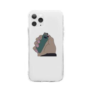 俺らのライター Soft clear smartphone cases