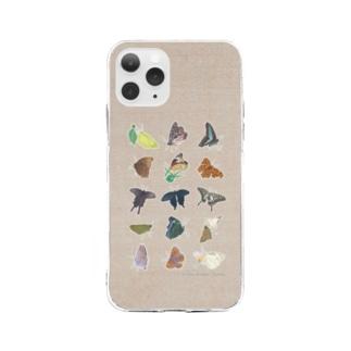 蝶のおもいで Soft clear smartphone cases