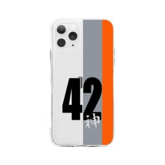 衝動的意匠物品店 「兄貴」の42神 Soft clear smartphone cases
