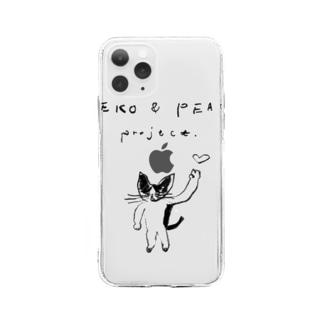 NEKO & PEACE Soft clear smartphone cases