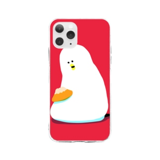 甘食を甘やかすロロ Soft clear smartphone cases