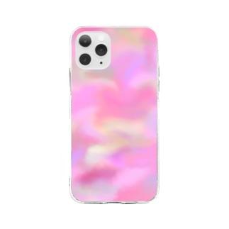 ぴんくい。 Soft clear smartphone cases