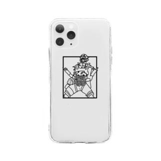 奮 Soft clear smartphone cases