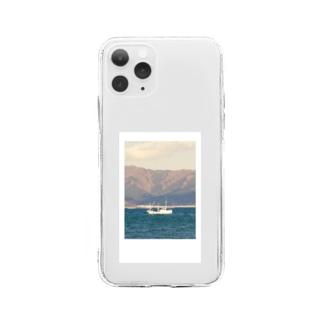 海(チェキデザイン) Soft clear smartphone cases