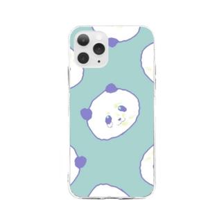 くじパンダ Ver.002 Soft Clear Smartphone Case