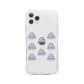 地球外生命体ヤマモト もっと増えた Soft clear smartphone cases