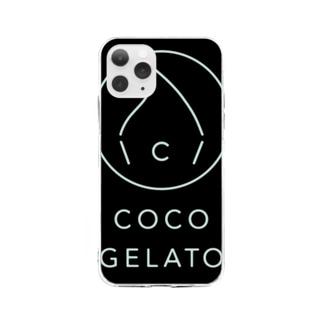 COCO GELATO Soft clear smartphone cases