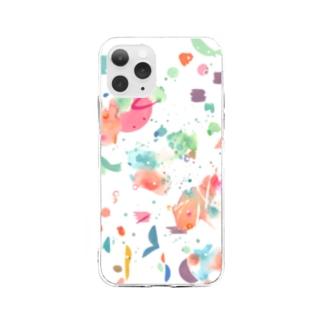 夏風 Soft clear smartphone cases