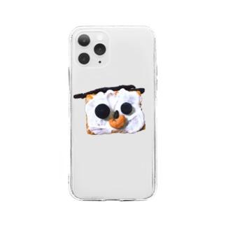 闇堕ちケーキ Soft Clear Smartphone Case