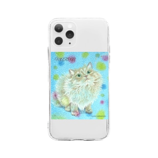 maron Soft Clear Smartphone Case