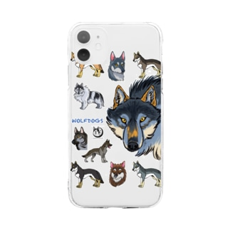 WOLFDOGS Soft clear smartphone cases