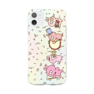 レプゥー 音楽隊 Soft clear smartphone cases