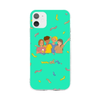 we're chilling out. Soft clear smartphone cases
